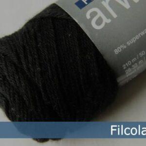 Garnnøgle fra Filcolana Arwetta Classic Black 102