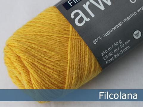 Garnnøgle fra Filcolana Arwetta Classic Daffodil 200Arwetta Classic Daffodil 200