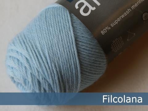 Garnnøgle fra Filcolana Arwetta Classic Ice Blue 340