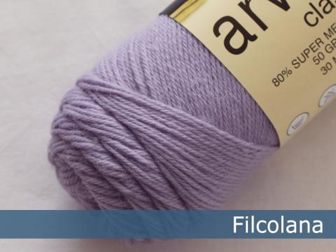 Garnnøgle fra Filcolana Arwetta Classic Lavender Frost 267