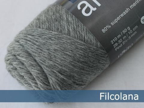 Garnnøgle fra Filcolana Arwetta Classic Light Grey 954