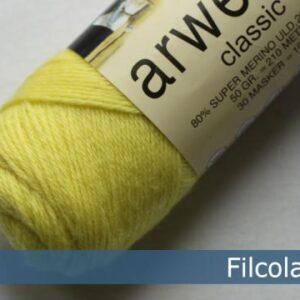 Garnnøgle fra Filcolana Arwetta Classic Limelight 255