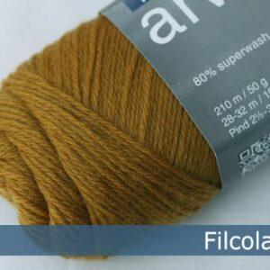 Garnnøgle fra Filcolana Arwetta Classic Mustard 136