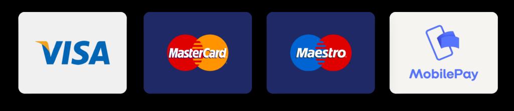 Betalingsmetoder Kreditkort