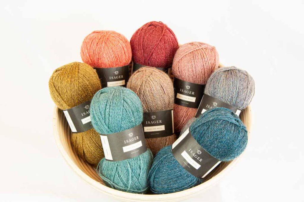 Kategori billede Isager Highland Wool