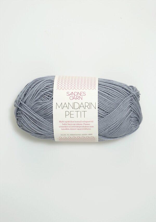 Garnnøgle fra Sandnes Mandarin Petit grå 6030