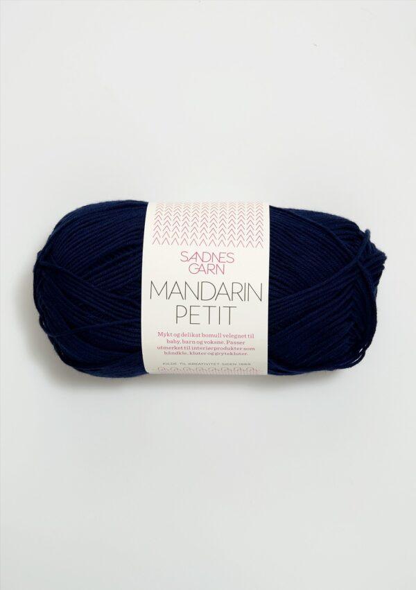 Garnnøgle fra Sandnes Mandarin Petit Marine 6073