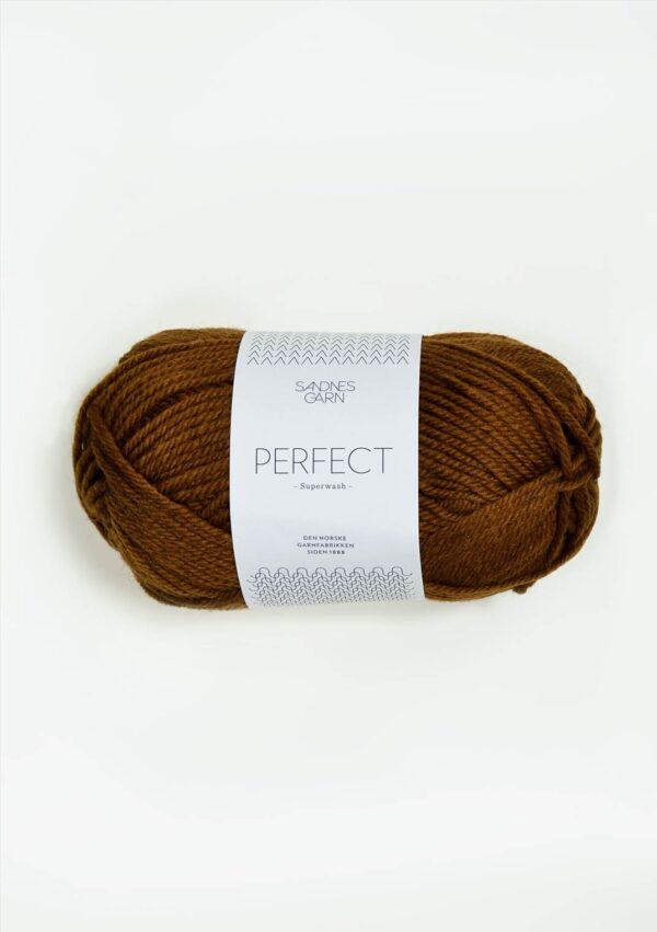 Garnnøgle fra Sandnes Perfect Gyllenbrun 2564