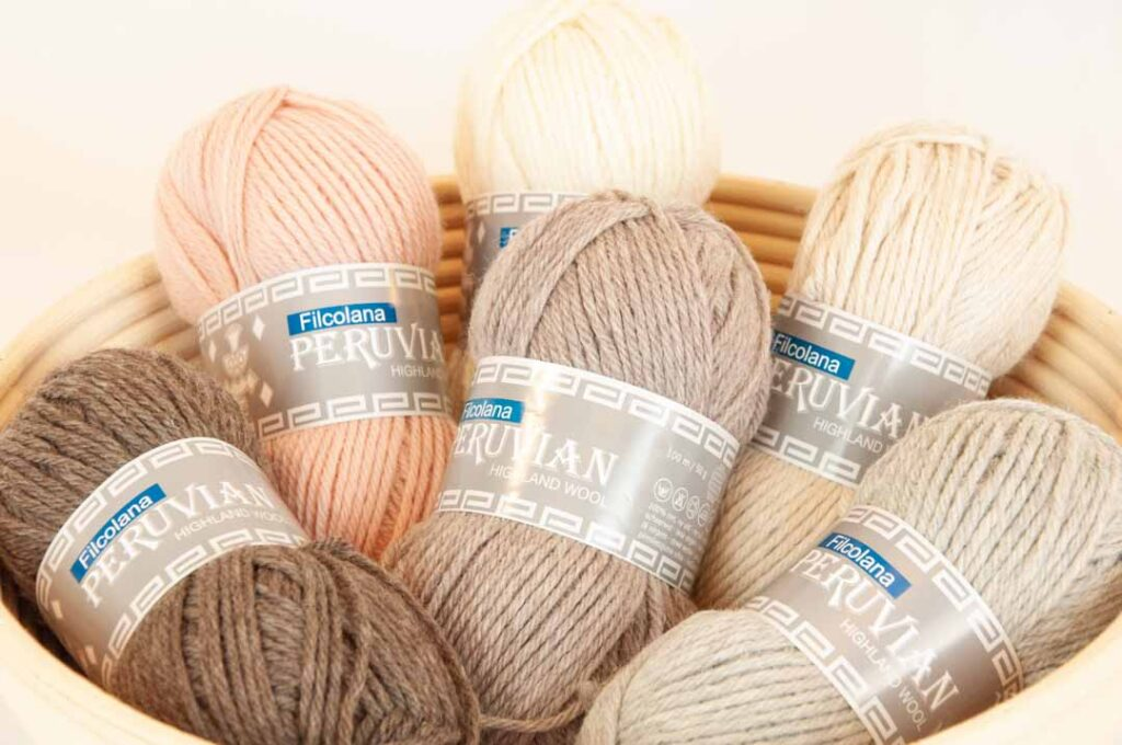 Kategori billede Peruvian Highland Wool