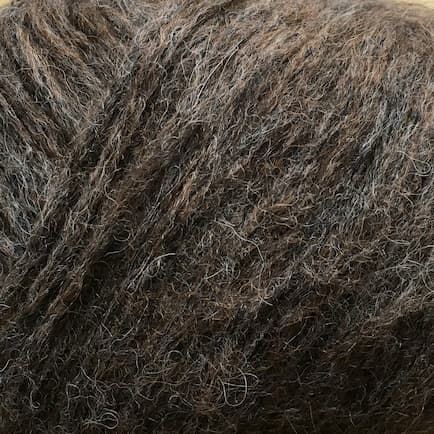 Garnnøgle fra Camarose Snefnug Mørkebrun 7317