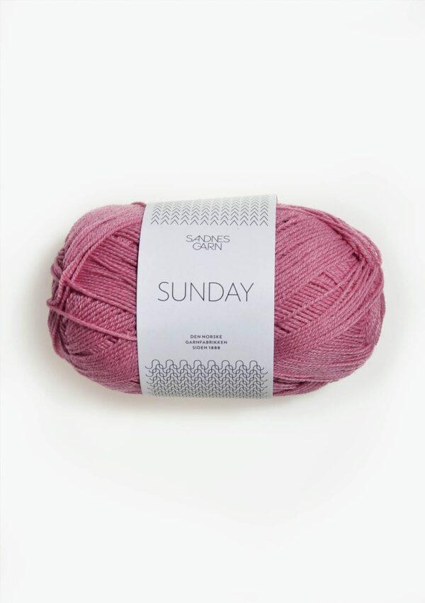 Garnnøgle fra Sandnes Sunday Rosa 4524
