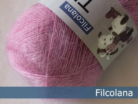 Garnnøgle fra Filcolana Tilia Begonia Pink 322