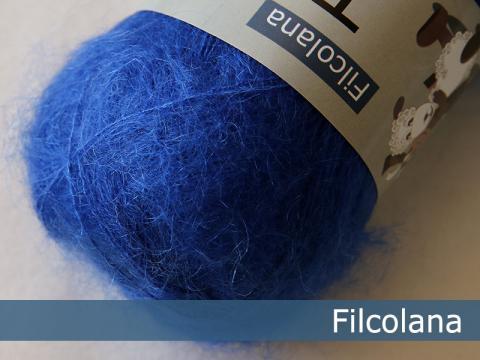 Garnnøgle fra Filcolana Tilia Bright Cobalt 337