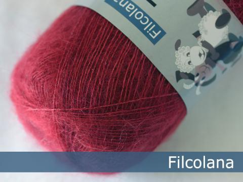 Garnnøgle fra Filcolana Tilia Cranberry 323