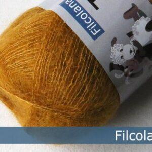 Garnnøgle fra Filcolana Tilia Mustard 136