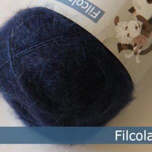Garnnøgle fra Filcolana Tilia Navy Blue 145