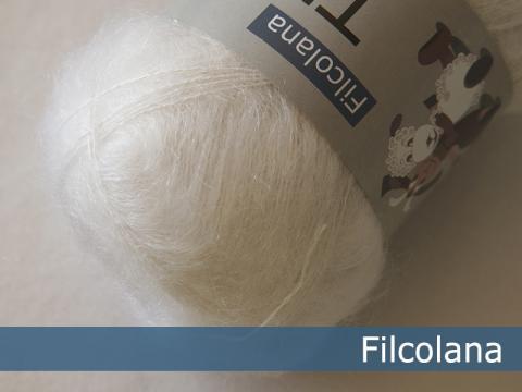 Garnnøgle fra Filcolana Tilia Snow White 100