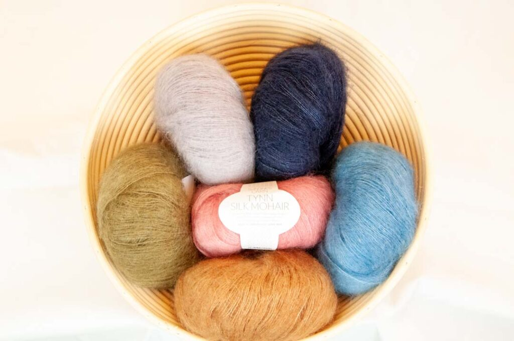 Kategori Tynn Silk Mohair