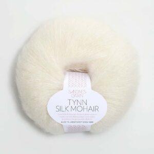 Tynn Silk Mohair Natur 1012