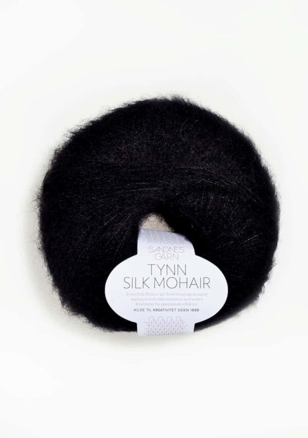 Tynn Silk Mohair Sort 1099
