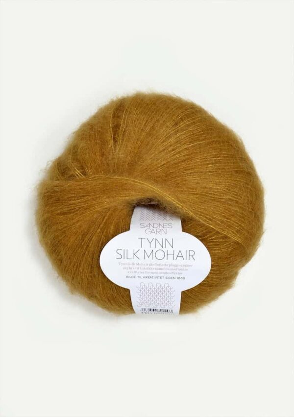 Tynn Silk Mohair Okker 2136
