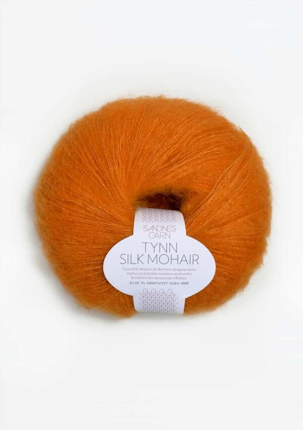 Tynn Silk Mohair Orange 2727