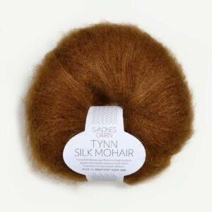 Tynn Silk Mohair Gylden Brun 2755