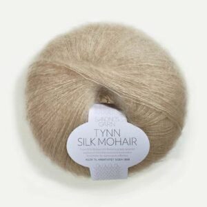 Tynn Silk Mohair Lys Beige 3021