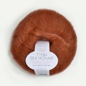 Tynn Silk Mohair Græskar 3044