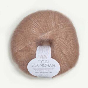 Tynn Silk Mohair Pudder Rosa 3511
