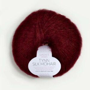 Tynn Silk Mohair Vinrød 4054