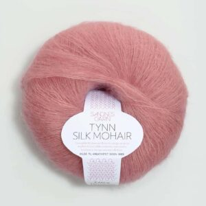 Tynn Silk Mohair Rosa 4323