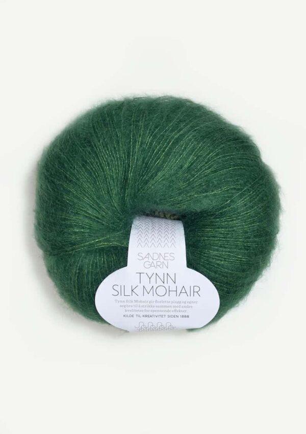 Tynn Silk Mohair Smaragd 7755
