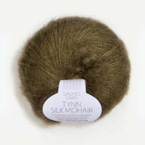 Tynn Silk Mohair Kapers 9862