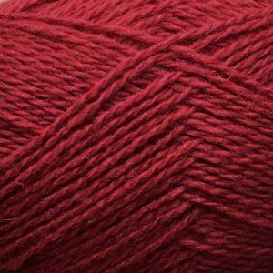 Garnnøgle fra Camarose Økologisk Hverdagsuld 14 Rød