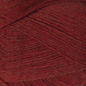 Garnnøgle fra Camarose Yaku 1809 Rød med Orange