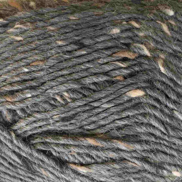 Garnnøgle fra Camarose Lamatweed 6520 Mørkegrå