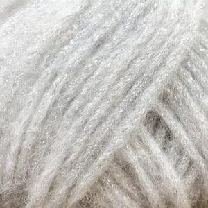 Garnnøgle fra Camarose Stjernestøv 8000 Hvid