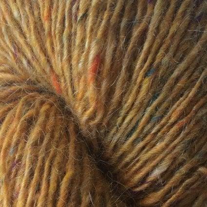 Garnnøgle fra Isager Tweed Mustard