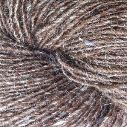 Garnnøgle fra Isager Tweed Walnut