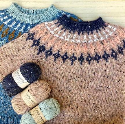 Pixen dk - Tweedie Sweater