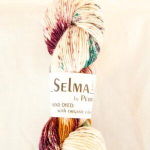 Garnnøgle fra Permin Selma Bordeaux/Grøn 06