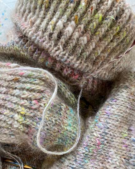 Terrazzo sweater fra PetiteKnit