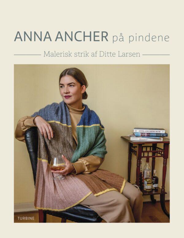 Forside fra bogen Anna Ancher på Pindene af Ditte Larsen