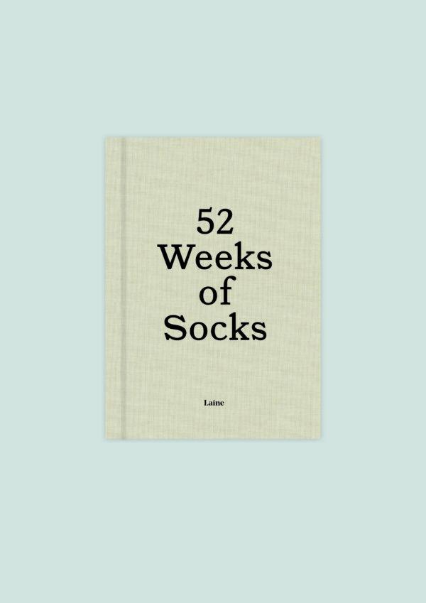 52 Weeks of Socks forside fra Laine Magazine