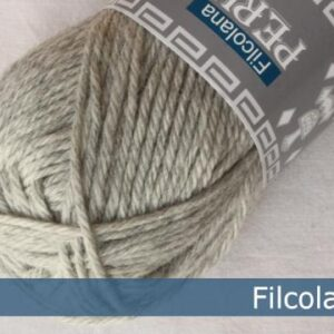 Garnnøgle fra Filcolana Peruvian Highland Wool Very Light Grey 957
