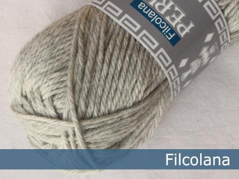 Garnnøgle fra Filcolana Peruvian Highland Wool Very Light Grey 957