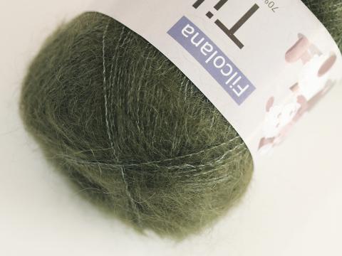 Garnnøgle fra Filcolana Tilia Slate Green 105