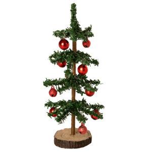 billede af miniature juletræ