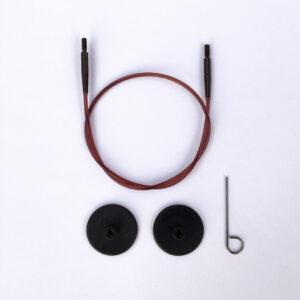 Wire 50 cm til Knitpro Symfonie Udskiftelige Rundpinde